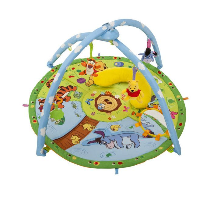 Tomy Winnie The Pooh Magic Motion Baby Play Gym Musical