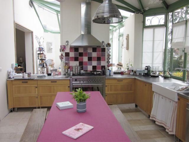 Les 75 meilleures images propos de id es pour la maison sur pinterest pi - Cuisine veranda photos ...