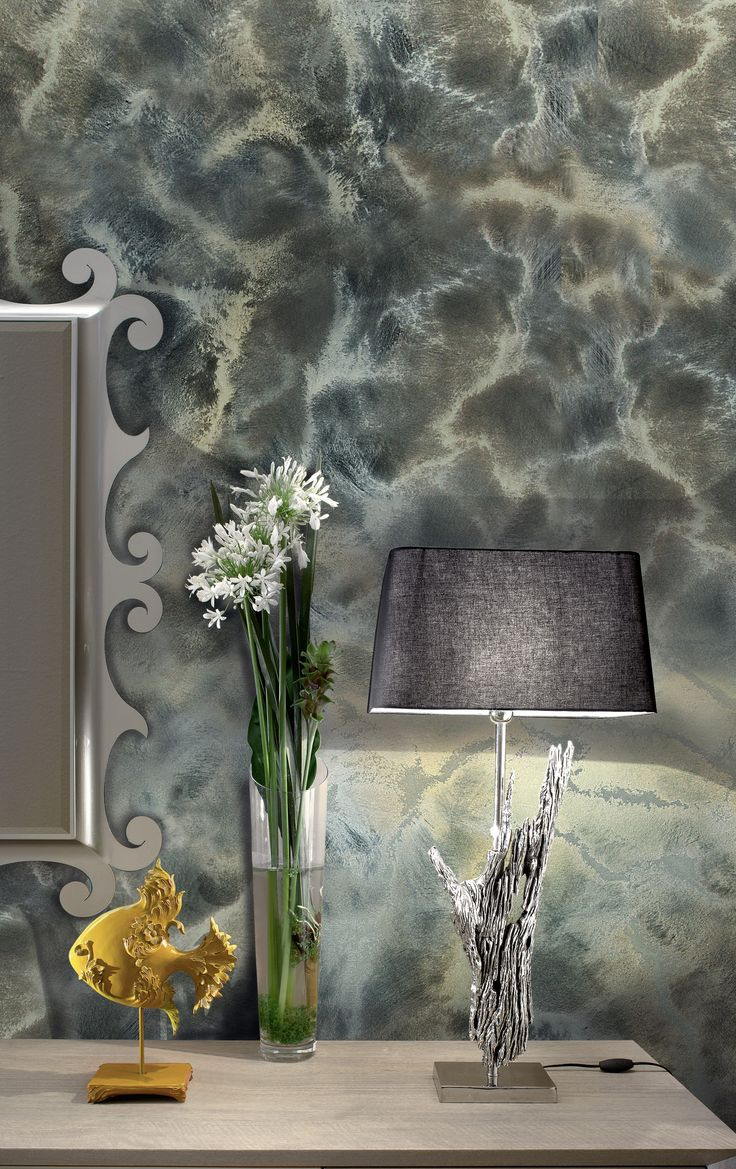 Decorative painting finish with raised effect MAVERICKS by VALPAINT