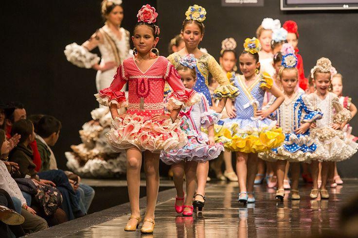 Desfile Infantil Pasarela Flamenca Jerez 2015