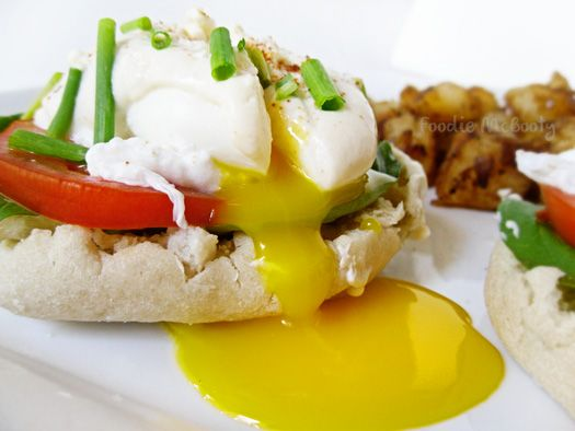 healthier eggs benedict | Fitness and Healthy Living | Pinterest
