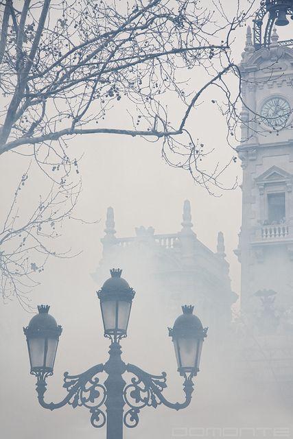 A foggy London