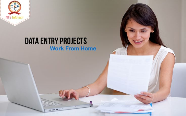 We outsource Data Entry Projects - Work From Home. For more www.ntsinfotechindia.com