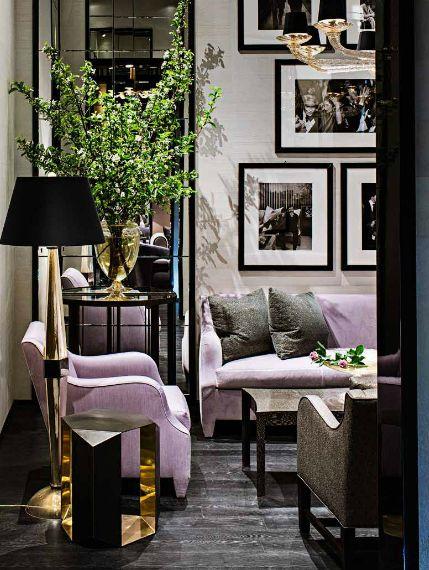 Urban Lilac + Black Living : Home Design. A Room By Donghia Showcases The  Italian · Furniture MakersItalian ... Part 84