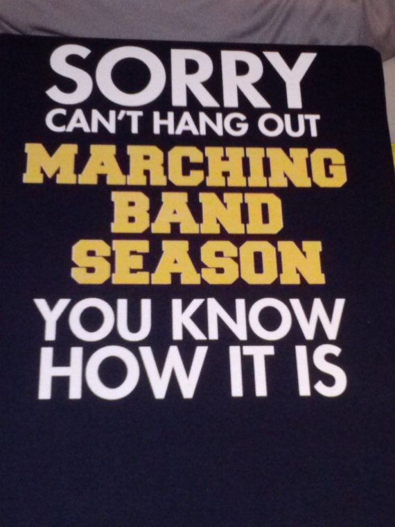 Marching Band Tshirt by NorthStarApparel on Etsy