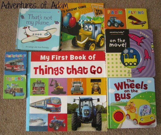 Adventures of Adam Things that go books