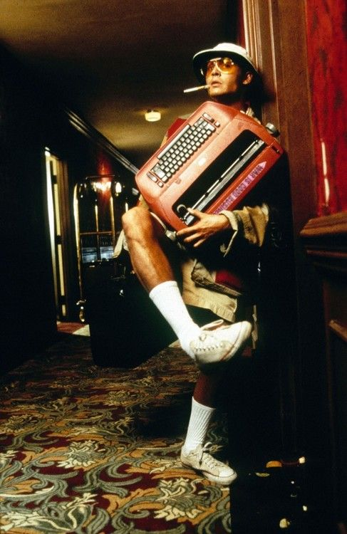 Johnny Depp in Fear & Loathing in Las Vegas