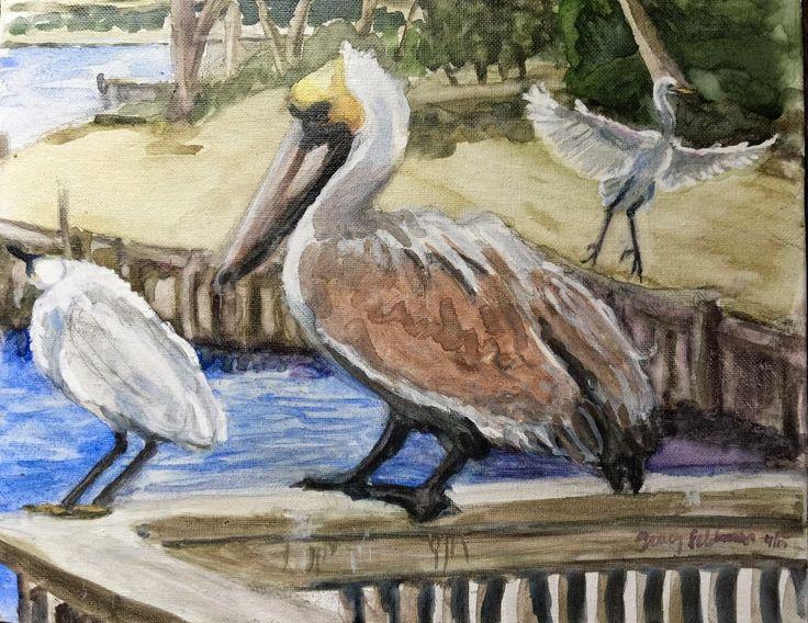 tracyfeldmanartblog: Litchfield Birds