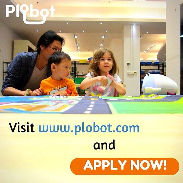 Find the link in our profile description. APPLY NOW! #Plobot