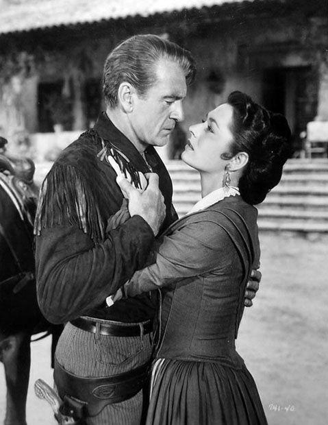 DALLAS (1950) ) Gary Cooper & Ruth Roman