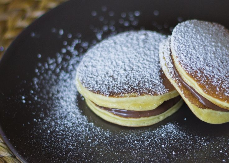 DORAYAKI con NUTELLA | pancakes giapponesi
