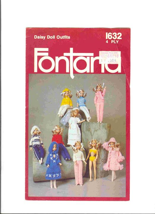 Daisy Doll Knitting Pattern : 17 Best images about Barbie Patterns - Knit on Pinterest ...