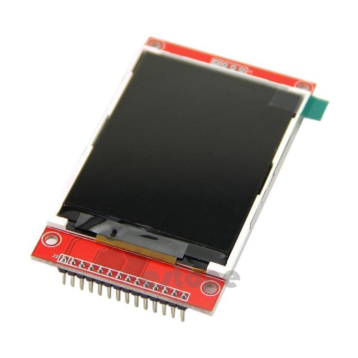"""2.8 """"240 × 320 spi tft液晶シリアルポートモジュール+ pcbアダプタmicro sd ili9341 5ボルト/3.3ボルト"""