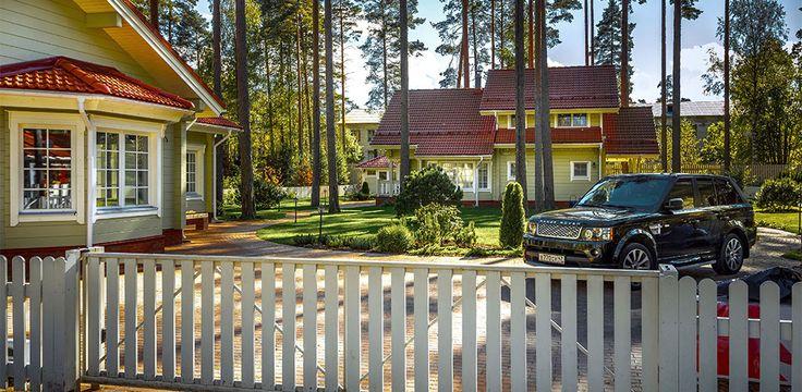 Projekt av trähus och timmerhus från Finland från Rovaniemi Log House