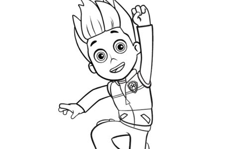 Ryder Paw Patrol Coloring Pages Things To Make With The Kids