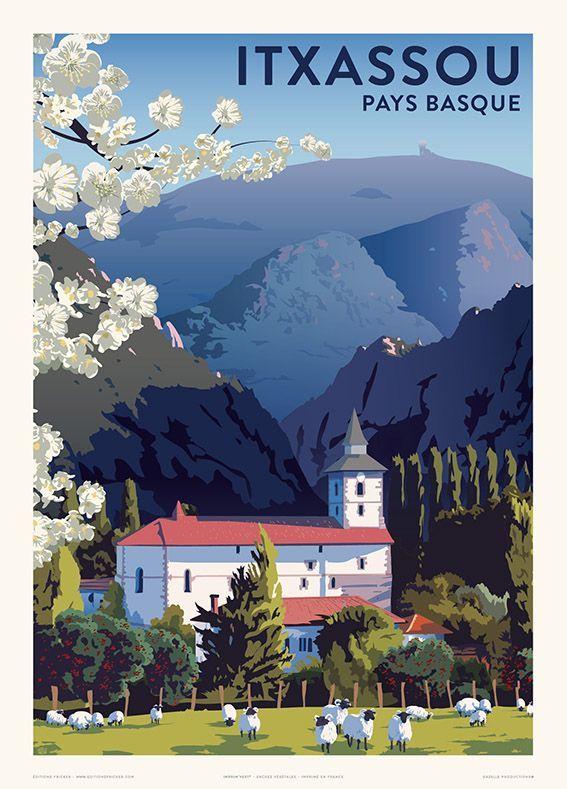 Les Fetes De Bayonne 1936 En 2020 Pays Basque Affiches De Voyage Retro Cartes Postales Vintage Travel Affiches De Voyage Retro Affiches De Voyage Pays Basque