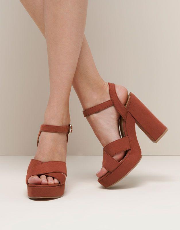 b847a4743 chaussure De Ete Chaussure Femme D Haut Talon Ete WEIHYD29