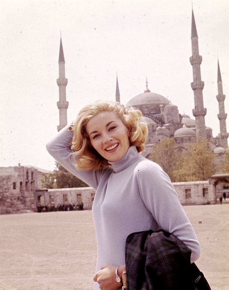 Bond actress Daniela Bianchi, who played Tatiana Romanova in From Russia With Love (1963)