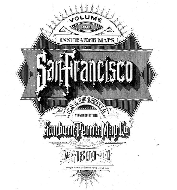 SF Sanborn lettering 1899 236 best Sanborn