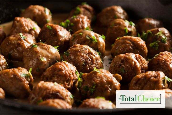 Total Choice Chia Meatballs : This recipe offers a combination of dynamic flavors that is sure to pair great with a veggie pasta or side salad. Eat this recipe...