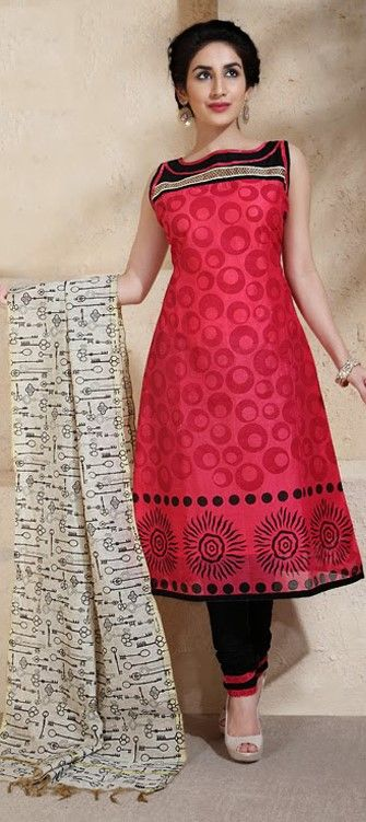 407799: UNLOCK your style with this #key prints dupatta in #SalwarKameez. Shop it at flat 10% off. #sale