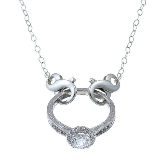 Ring My Neck, The Classic- For when you can't wear your ring on your finger! A maternity, nurse,doctor,military wife,widow, etc. necklace.