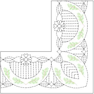 370 best Machine Quilting Inspirations images on Pinterest ... : quilting border stencils - Adamdwight.com