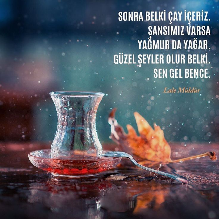 Sonra belki çay içeriz. Şansımız varsa yağmur da yağar. Güzel şeyler olur belki. Sen gel bence. - Lale Müldür #sözler #anlamlısözler #güzelsözler #manalısözler #özlüsözler #alıntı #alıntılar #alıntıdır #alıntısözler #şiir #edebiyat