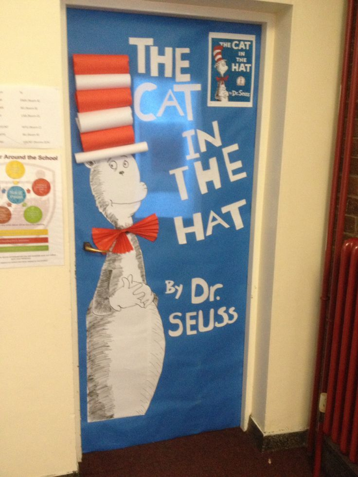 Cat in the Hat door & 9 best World Book Day 2014 images on Pinterest | Book week 2014 ...