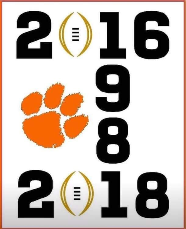 Go Tigers 3 National Champions Clemson Fans Clemson Tigers Football Clemson Tailgating