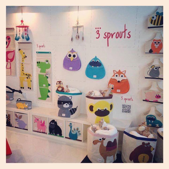Ideal la colección de animalitos de #3Sprouts para decorar la habitación de tu #baby !!!! A la venta en www.tutete.com