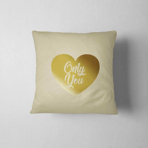Decorative Pillow 16x16 College Dorm Home Decor Throw Pillow Gift For Boyfriend Men S Day Funny Gift Gold Nursery Decor Gold Pillows Gold Nursery
