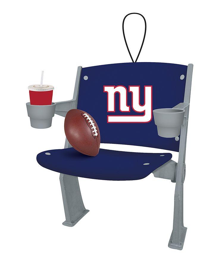 New York Giants Stadium Chair Ornament