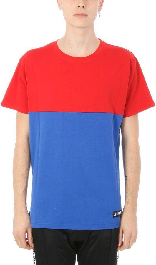 Les (Art)ists Les Artists Gosha Friend Blue/red Cotton T-shirt