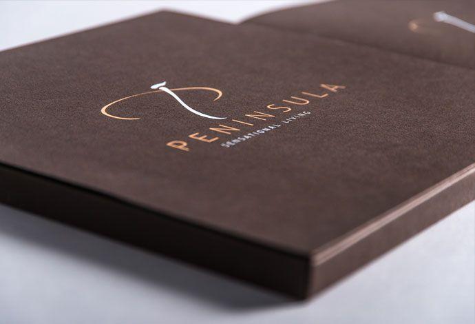 Immobilienprojekt Peninsula - Corporate Design