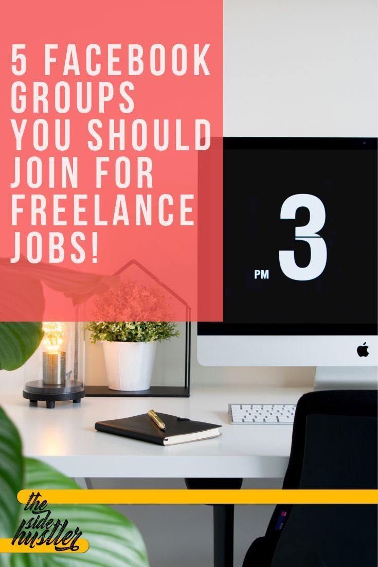 Five Facebook Groups To Find Online Freelance Jobs And Work From