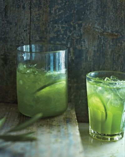 Dandelion-Lime Cooler   The Bitten Word