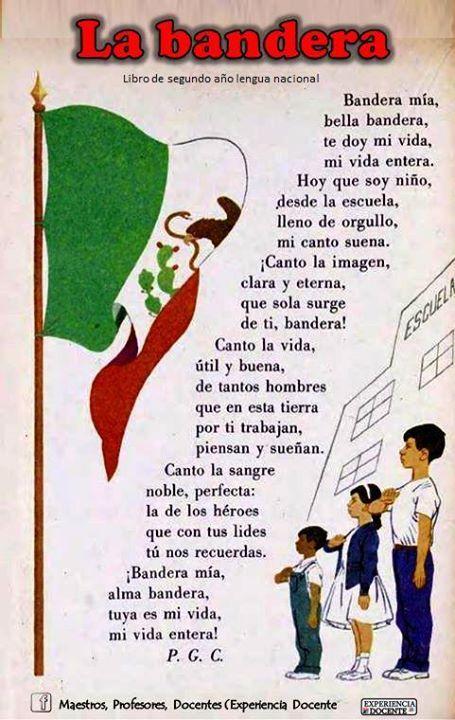 La bandera / P.G.C. 24 de febero Día de la bandera