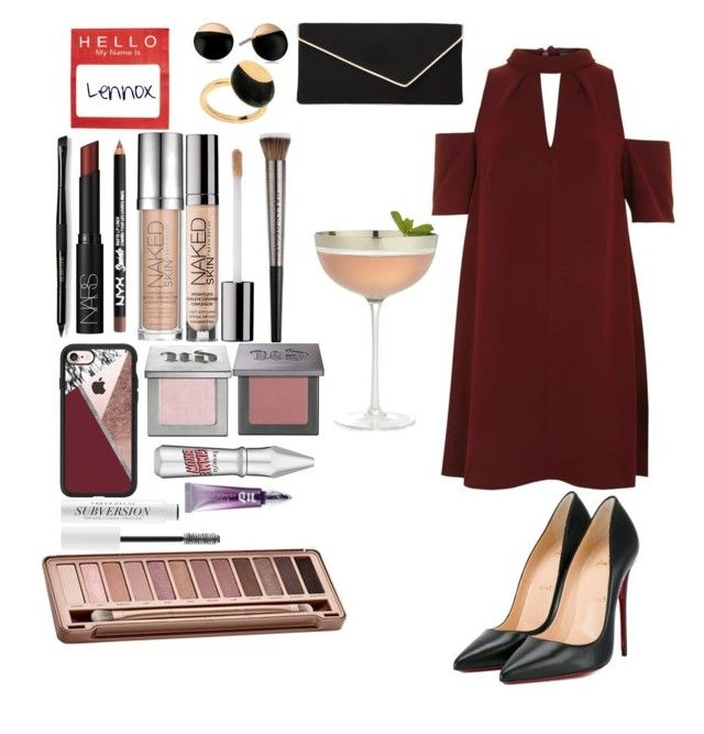 """""""Untitled #174"""" by emmely201 on Polyvore featuring Topshop, Christian Louboutin, L.K.Bennett, Casetify, Skagen, Isabel Marant, Urban Decay, NARS Cosmetics, Crate and Barrel and Laura Mercier"""