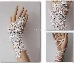 Resultado de imagen para guantes de novia