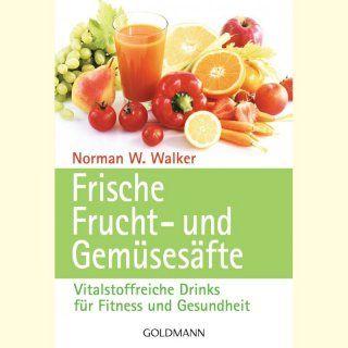 BESTSELLER! Vitalstoffreiche Drinks für Fitness und Gesundheit. Warum sind frisch gepresste Gemüsesäfte so gesund? Welche Zutaten helfen bei bestimmten Krankheitsbildern? Geschrieben von Norman Walker.