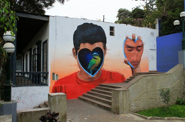 Constantly busy on the streets of Lima in Peru, JADE has just finished working on yet another brilliant piece located in the district of Barranco.