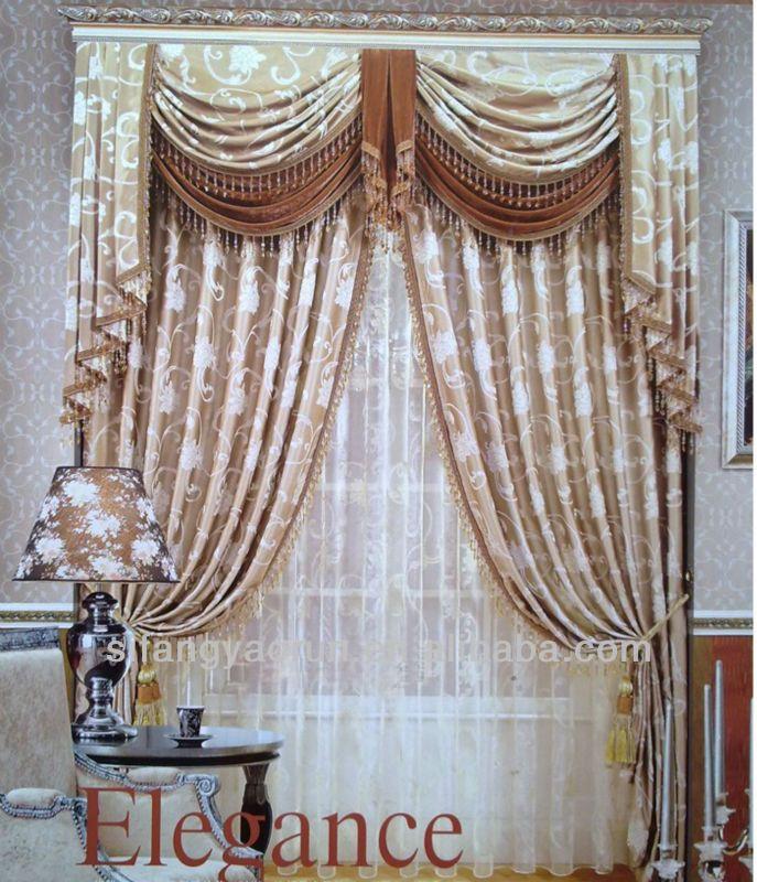 mode valences luxe moderne rideaux mode produits et technologie et luxe. Black Bedroom Furniture Sets. Home Design Ideas