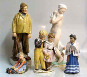 Royal copenhagen Figurine Marks and Dating