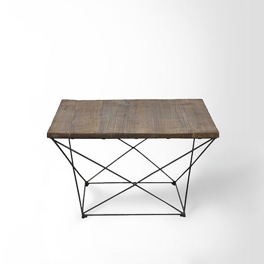 Angled Base Coffee Table | West Elm - Reception Area - $499