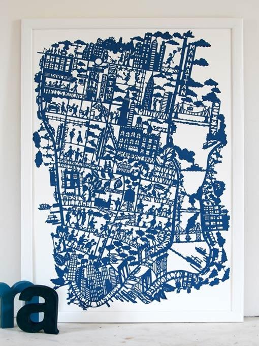 CUT PAPER maps.Paper Cut, New York Cities, Famille Summerbelle, Cities Maps, Papercut, Famil Summerbel, Nyc Maps, Cut Paper, Maps Prints