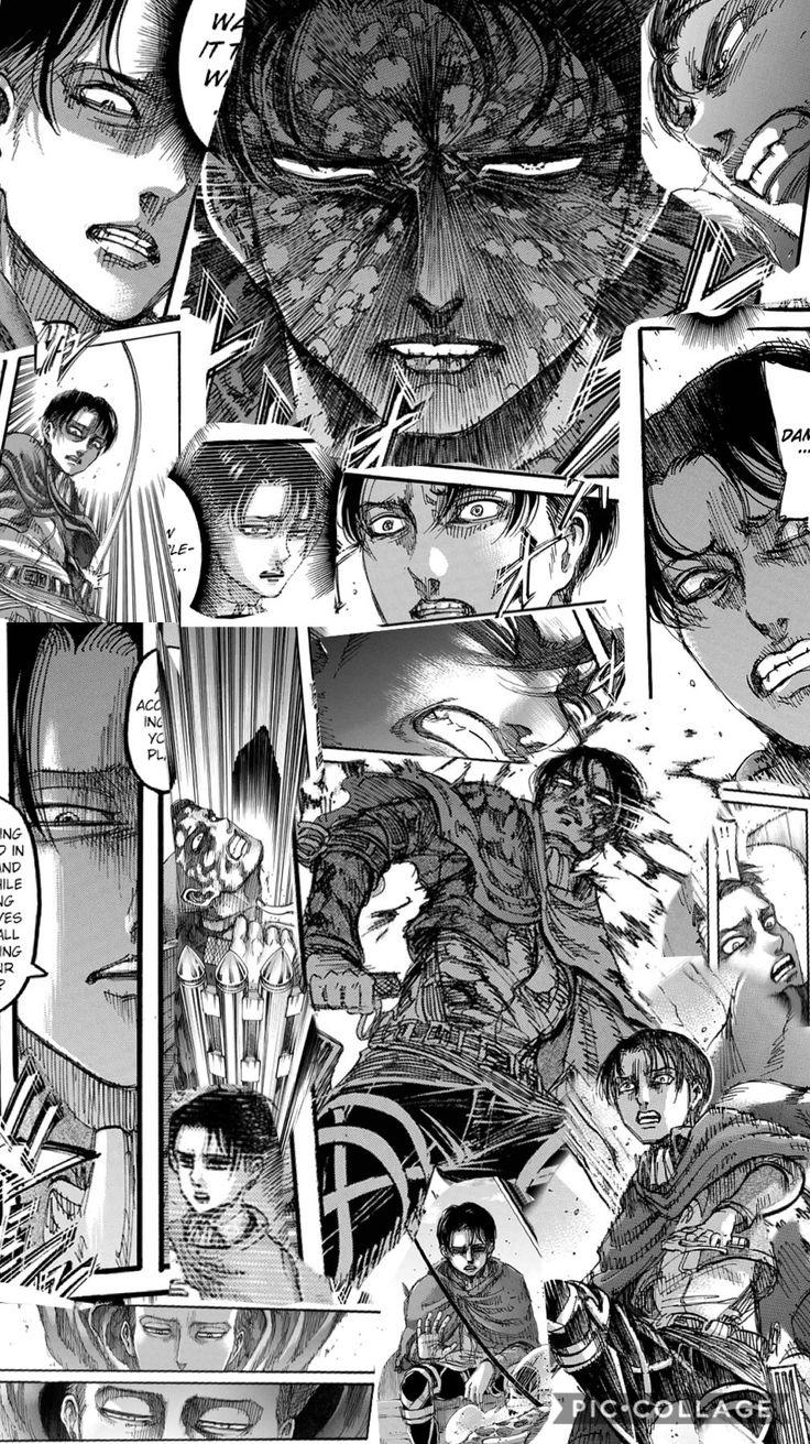 Levi Ackerman chapter 113 | Attack on titan anime, Anime ...