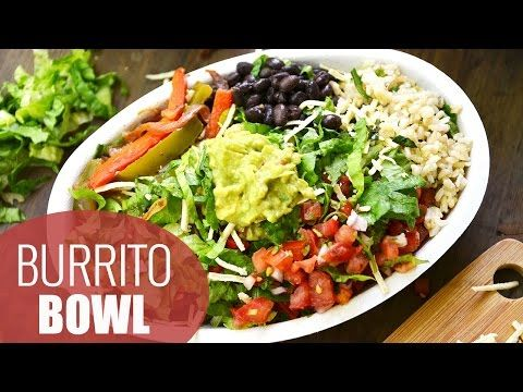 DIY Chipotle Burrito Bowl - Fablunch