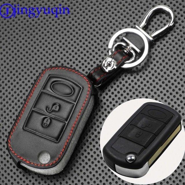 Jingyuqin 3 Buttons Remote Flip Car Key Case Fob Styling Shell