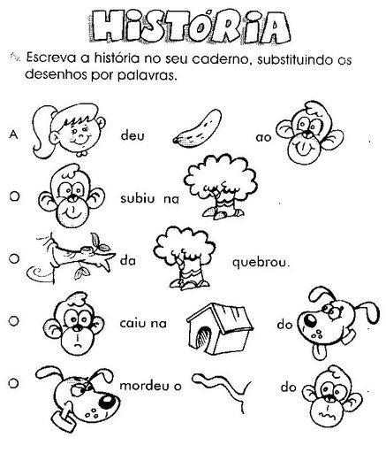 Atividades e desenhos alfabetização exercícios sílabas colorir imprimir      Palavras sílabas ditado      Ditado palavras sílabas      Figu...